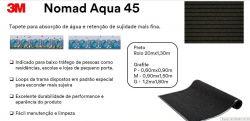 Tapete Aqua 60x90 cm Grafite 3M Com Borda