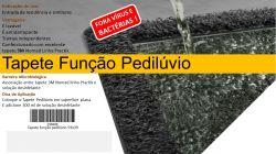 Tapete Sanitizante Pedilúvio 80x60 cm 3M Cor Cinza